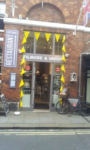 Best cafes and restaurants in York - Filmore & Union cafe